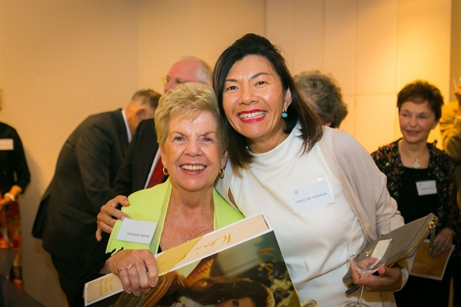 Chrissie Moore and Chiou See Anderson